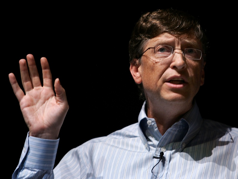 Bill Gates Addresses Students At Columbia University